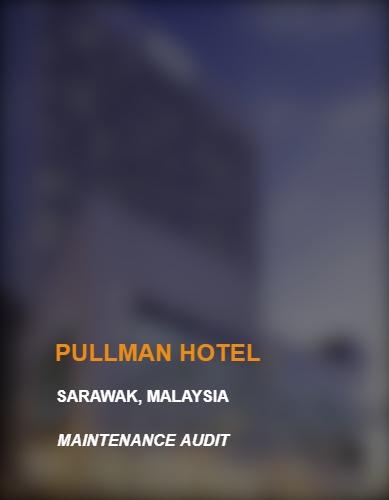 PULLMAN HOTEL BLUR Text